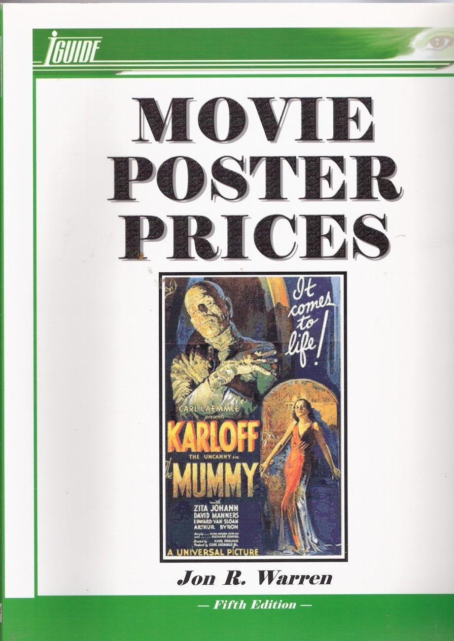 Original movie poster price guide