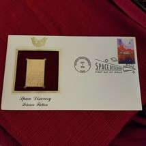 Space Discovery - Science Fiction First day issue Gold Stamp - $3.22