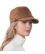 Authentic NWT Eric Javits NYC Designer Women's Hat - Mika in Cognac - $126.35