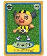 Animal Crossing Boy 1 P01 Nintendo E-Reader Card GBA - $7.99