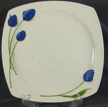 Studio Nova CD302 Blue Rhapsody Dinner Plate Floral Fine Porcelain (M4) - $19.95