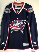Reebok Premier NHL Jersey Columbus Blue Jackets Team Navy sz M - $39.59