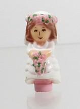 1989 Polly Pocket Doll Bridesmaid Polly - Nancy Bluebird Toys - $8.00