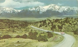 Colorado's Snow-Capped Rockies, 1950s unused Postcard  - $5.99