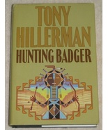 Hunting Badger by Tony Hillerman HBDJ Large Print  - $3.99