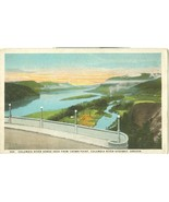 Columbia River Gorge seen from Crown Point, Columbia River Highway, Oregon - $4.99