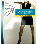 Pantyhose Control Top Size Plus Tall Hanes Day Sheer Color Barely There ... - $8.90