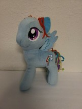 "My Little Pony Rainbow Dash Plush Toy 2014 - 11"" Blue Pegasus Rainbow Hair EUC - $14.99"