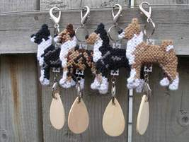 Basenji dog crate tag or hang anywhere, hound s... - $17.00