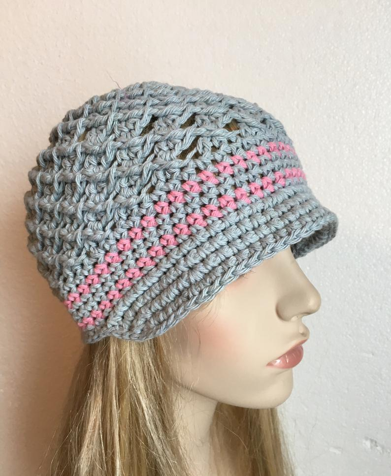 Cancer awareness hat, Brain cancer hat, Breast Cancer Hat, Cancer Hat