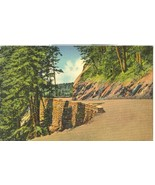 Curve on Sky-Line Drive in the Great Smoky Mountains National Park, Post... - $5.99