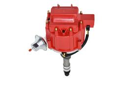 SBC 62-74 CHEVY CORVETTE TACH DRIVE 327 350 383 HEI DISTRIBUTOR RED 65K COIL image 1