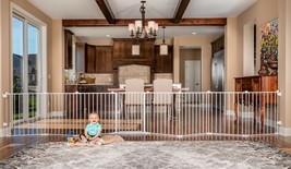 Regalo 192-Inch Super Wide Adjustable Baby Gate and Play Yard, 4-In-1, B... - $119.98