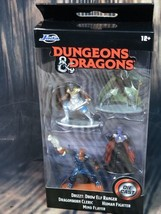 JADA TOYS DUNGEONS & DRAGONS DIE CAST FIGURINES DRIZZT MIND FLAYER  - $8.90