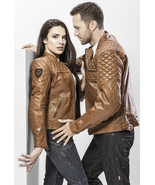 New Handmade  Romantic Couple Pair of fashionable leather jackets  - $289.99+