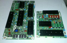 Samsung PN51D6500 Y-SUS And Zsus Boards LJ92-01766A / LJ92-01765A - $42.00
