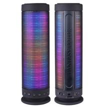 Color Dancing Portable Bluetooth Speaker (9.25 Tall) w/LED VisualEqualiz... - $48.63