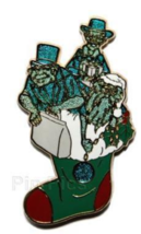 Disney Pin 74512 WDI Cast Christmas Hitchhiking Ghosts Haunted Mansion LE 300 # - $108.90