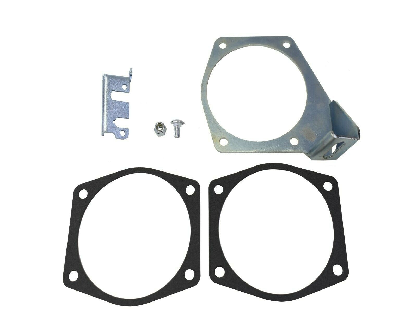 LS LSX LS1 LS2 LS3 LS6 LS7 Throttle Cable Bracket For Intakes 92MM 102MM SILVER