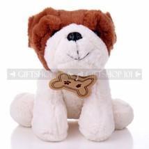 "10"" Cute Stuffed Animal Sitting Bulldog Toy Plush Little Puppy Cuddle Do... - $13.98"