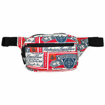 Budweiser Label Fanny Pack Red - $29.98