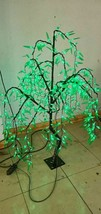 5ft LED Green Willow Tree Light Christmas birthday party Home Outdoor decor New - $184.13