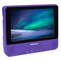 Digiland DL9002-PURPLE 2-in-1 Android Tablet + DVD Player - Quad-Core 1.... - $88.42