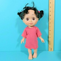 "Monsters Inc Babblin' Boo Talking 12"" Doll Pink Shirt Disney Pixar 2001 Working - $19.95"