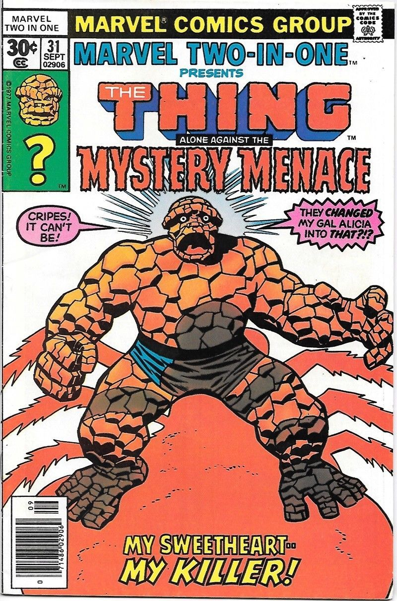 Marvel Two-In-One Comic Book #94 The Thing /& Power Man Iron Fist 1982 NEAR MINT