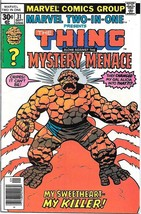 Marvel Two-In-One Comic Book #31 The Thing & Mystery Menace Marvel 1977 ... - $3.99
