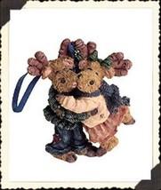 "Boyds Critter & Co Ornament ""Dale & Ilona..Under the Mooseltoe"" #25002 -... - $24.99"