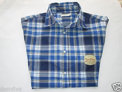 Primary image for Sonoma Life + Style NWT Plaids 2 Piece Set Men' Sport Shirt Gray, Blue L $48