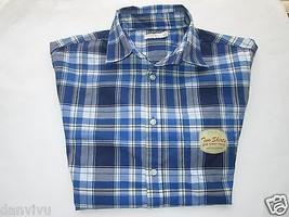 Sonoma Life + Style NWT Plaids 2 Piece Set Men' Sport Shirt Gray, Blue L... - $21.79