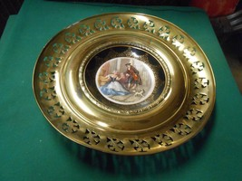 """Great Regency Bone China With Brass Wall Plaque """"Cries Of London Sweet Oranges"""" - $15.65"""