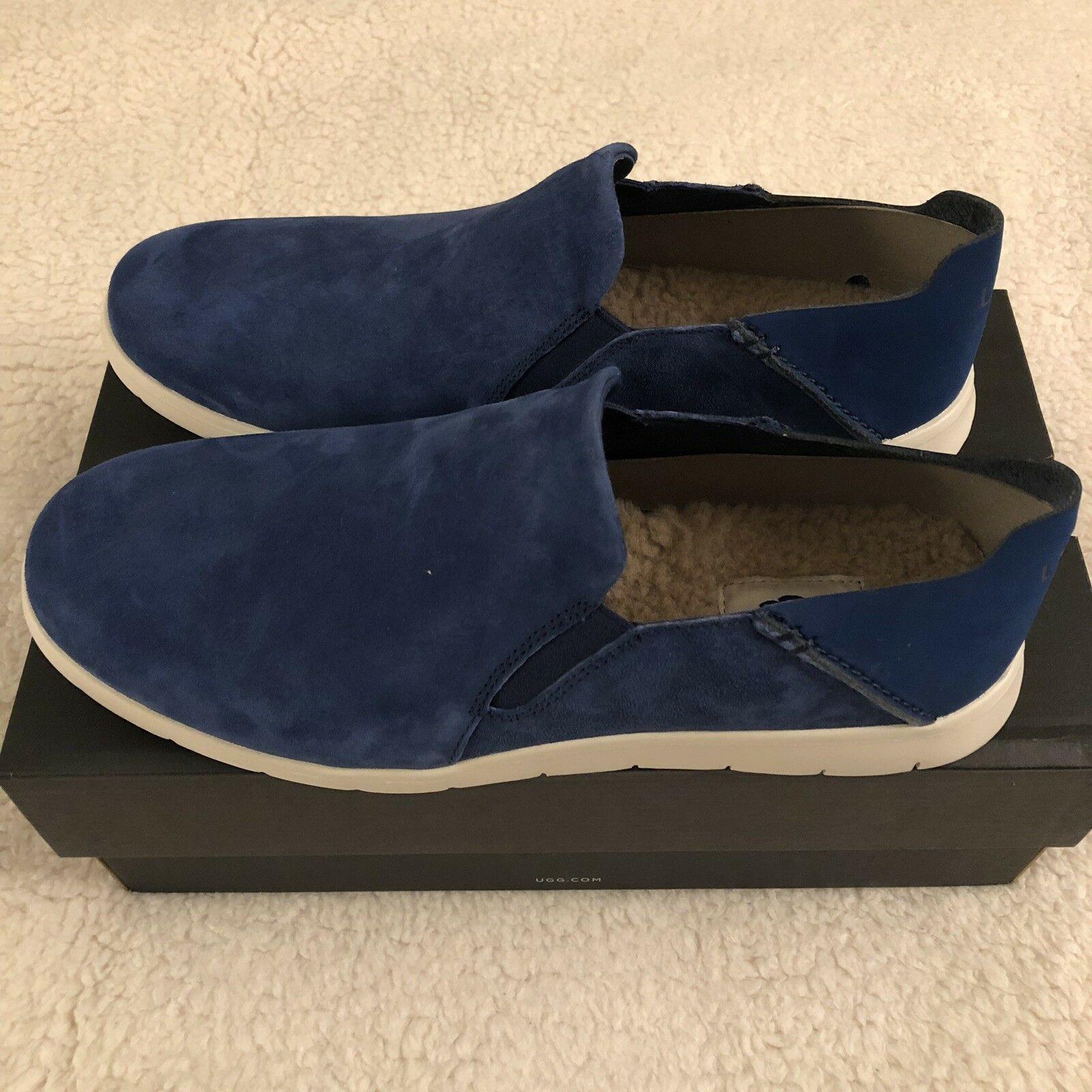 NEW UGG Men's Knox Suede Slip On Sneaker, Sizes 9, 11  Blue, MSRP $100 image 7