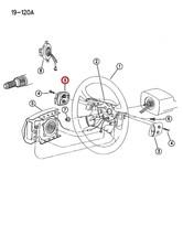 New Nos Mopar Genuine Oem Steering Wheel Cap Piece 0HY39SC8 - $24.75