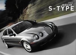 2006 Jaguar S-TYPE sales brochure catalog US 06 3.0 4.2 R V8 VDP - $12.00
