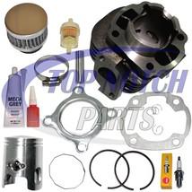 Yamaha Zuma Yw50 Yw 50 Piston Cylinder Piston Gaskets Top End Kit Set 20... - $49.95
