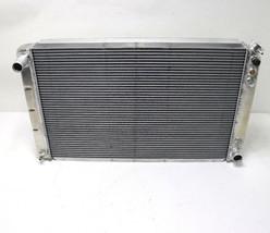 "PWR RADIATOR Aluminum GM Muscle Car with Auto Trans  33 X 19 3/4"" Race U... - $199.99"