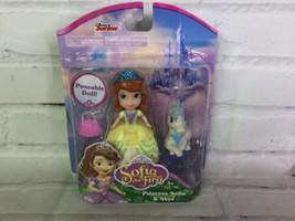 Disney Sofia The First Princess Sofia & Skye Unicorn Figures Poseable Small Doll - $27.71