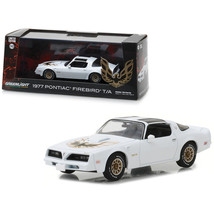 1977 Pontiac Firebird Trans Am Cameo White 1/43 Diecast Model Car by Gre... - $31.21