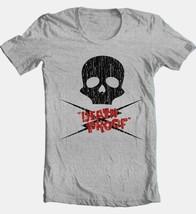 Death Proof Skull T-shirt Stuntman Mike Skull horror movie cotton blend grey tee image 2