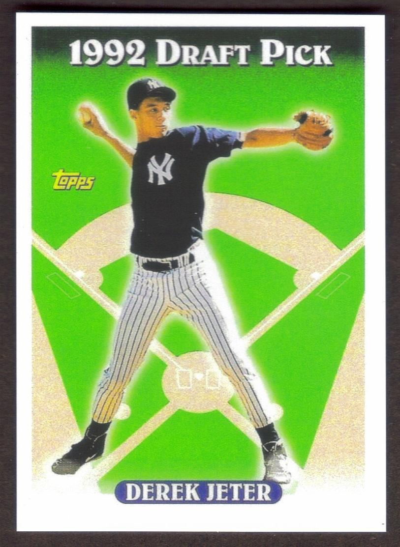 Primary image for DEREK JETER Rookie Card RP #98 Yankees RC 1993 T Free Shipping