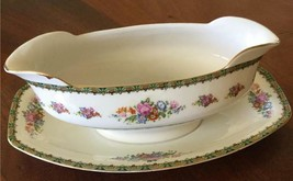 Gravy Boat with Attached Underplate in PUN9 by Porcelain Union - $40.00