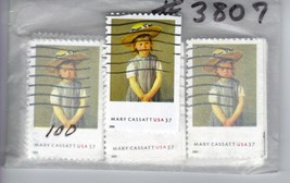 "USA stamp lot Mary Cassatt Painting ""Child in a straw hat"" scott #3807-1... - $4.99"