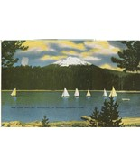 Elk Lake and Mt. Bachelor, in Scenic Oregon, 1920s unused Postcard  - $4.99