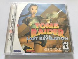 NEW Tomb Raider The Last Revelation (Sega Dreamcast 2000) COMPLETE in Bo... - $24.99