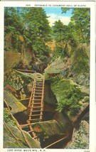 Entrance to Judgment Hall of Pluto, Lost River, White Mts. NH, 1920s Postcard - $7.99