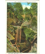 Entrance to Judgment Hall of Pluto, Lost River, White Mts. NH, 1920s Pos... - $7.99