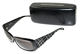 Authentic Givenchy Womens Designer Sunglasses Black Rectangle SGV 653  - $99.00
